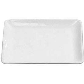 """American Metalcraft CER15 - Plate, 14"""", Square, Fits Is8 Stand, Ceramic, White"""