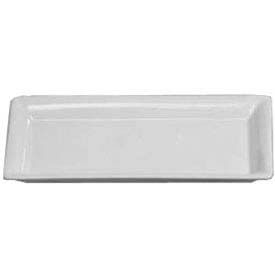 "American Metalcraft CER19 - Platter, 14-1/4"" x 7-1/2"", Rectangular, Ceramic, White"