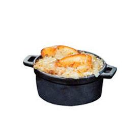"American Metalcraft CIPR5500 - Baking Dish, 17 Oz., 5"" Dia. x 2""H, Medium, Round, Cast Iron"