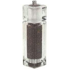 "American Metalcraft CPM62 - Salt Shaker/Pepper Mill Combo, 1-1/2"" x 6-1/2"", Acrylic"
