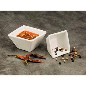 American Metalcraft CSC15 - Sauce Cup, 1-1/2 Oz., Square, Porcelain