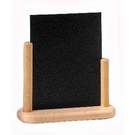 American Metalcraft ELEBSM - Securit Table Board, 4 x 6, Double Sided, Removable Blackboard