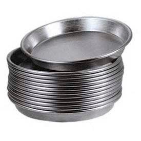 "American Metalcraft HADEP11 - Pizza Pan, Tapered/Nesting, 10"" Diameter, 1"" Deep, Solid"