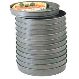 """American Metalcraft HC5009 - Pizza Pan, Self Stacking, 9"""" Dia., 2"""" Deep, Solid, With Hard Coat"""