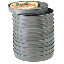 """American Metalcraft HC5018 - Pizza Pan, Self Stacking, 18"""" Dia., 2"""" Deep, Solid, With Hard Coat"""