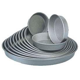 "American Metalcraft HC90101.5 - Pizza Pan, Tapered/Nesting, 10"" Dia., 1-1/2"" Deep, Solid, Hard Coat"