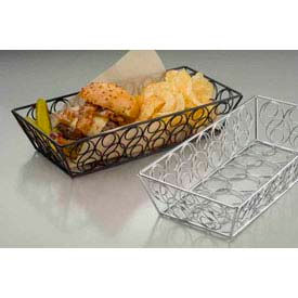 American Metalcraft LDLC1362 - Loop-D-Loop Basket, 13 x 6 x 2-3/4, Rectangular, Chrome