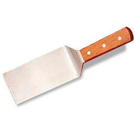 "American Metalcraft LT12ST - Turner, 3 x 7-1/2, Straight Blade, Wood Handle, 12"" Overall"