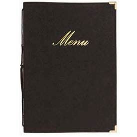 "American Metalcraft MCCRLSBL - Securit Classic Sewn Menu Cover, 10"" x 13"""
