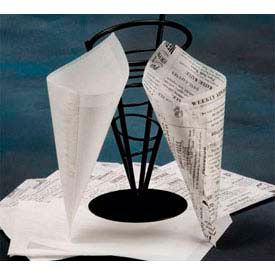 American Metalcraft PPRN2121 - Wax Paper, 12 x 12, Newsprint, Flat Sheets, (1,000 Per Pack)