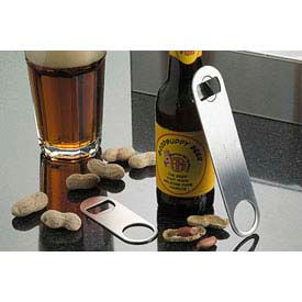 American Metalcraft SBO154 Flat Bottle Opener, Mini by