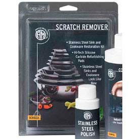 American Metalcraft SCRREM1 - Scratch Remover, For Stainless Steel Sinks And Cookware