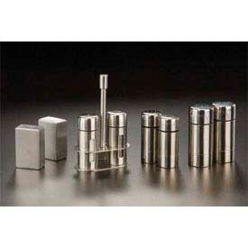 "American Metalcraft SP35 - Salt & Pepper Set, 3-1/2""H, Stainless Steel"