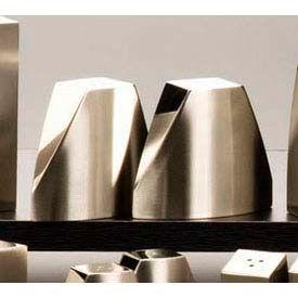 "American Metalcraft SPDX22 - Salt & Pepper Shaker Set, 2-5/8""H x 3-1/4""W, Triangle"
