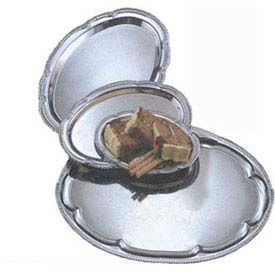 American Metalcraft STOV1510 - Affordable Elegance Serving Tray, Oval, 10 x 15, Chrome Plated