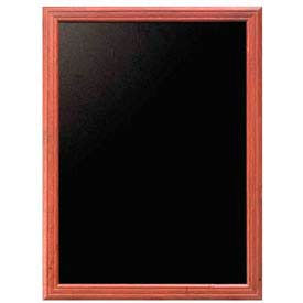 "American Metalcraft WBUM70 - Securit Wall Board, 28"" x 36"", Mahogany Frame"