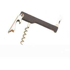 American Metalcraft WCSB415 - Deluxe Cork Screw, Waiter's, With Bottle Opener & Curved Knife