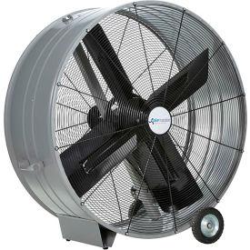 "Airmaster Fan 48"" Portable Belt Drive Mancooler® 60019 1 HP 17173 CFM"