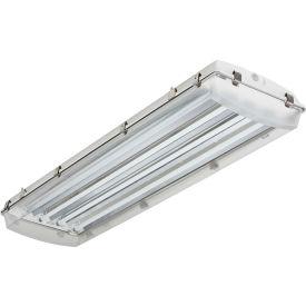 Lithonia Lighting FHE 454L 1/4 CS89 High-Pressure Hose-Down Food Processing, 4 Lamp, T5HO, 54W