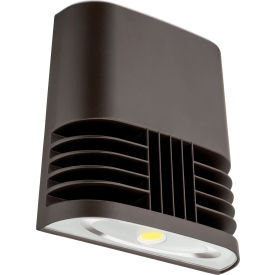 Lithonia Lighting OLWX1 LED 20W 50K M4, LED Wall Pack, 20W 5000 CCT, Bronze