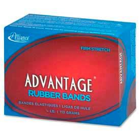 """Alliance® Advantage® Rubber Bands, Size # 19, 3-1/2"""" x 1/16"""", Natural, 1/4 lb. Box"""