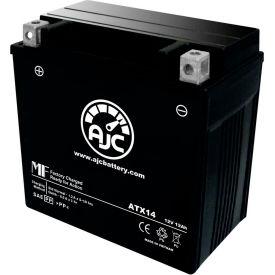 AJC Battery Yamaha Apex RTX ER 998CC Snowmobile Battery (2007-2008), 12 Amps, 12V, B Terminals