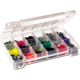 Akro-Mils Large Dividable Clear storage case