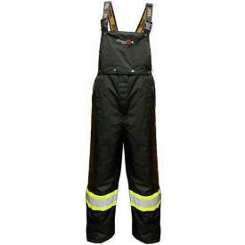 Viking® Journeyman FR Professional Trilobal Rip-Stop Pants W/Hi-Vis Safety Striping, L
