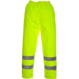 Viking® D6329WPG Professional Journeyman Hi-Vis 300D Trilobal Safety Waist Pants, Green, XL