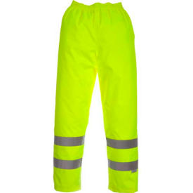 Viking® D6329WPG Professional Journeyman Hi-Vis 300D Trilobal Safety Waist Pants, Green, 3XL