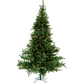Fraser Hill Farm Artificial Christmas Tree - 12 Ft. Foxtail Pine EZ Connect - Clear Smart Lights
