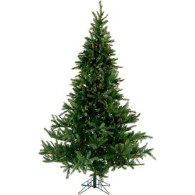 Fraser Hill Farm Artificial Christmas Tree - 12 Ft. Foxtail Pine - Multi-Color LED String Lights