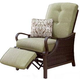 Hanover Ventura Outdoor Luxury Recliner with Pillow