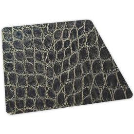 Aleco® Snakeskin Design Hard Floor Office Chair Mat 36 x 48 Rectangle, Beveled Edge
