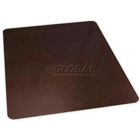 "Aleco® Office Chair Mat for Carpet - 46"" x 60"" - Bronze - Straight Edge"