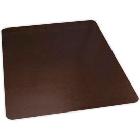 "Aleco® Bronze Laminate Office Chair Mat, Hard Floor 36 x 48 Rectangle, 0.110"", Straight Edge"