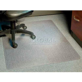 "Aleco® AnchorBar® Office Chair Mat, Rectangle, 46""W x 60""L, .110"" Thick, Beveled Edge"