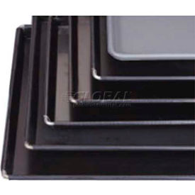 """Allied Metal Spinning BB1212 - Sicilian Pizza Pan, 12"""" x 12"""" x 1"""", Non-Stick Black Buster"""