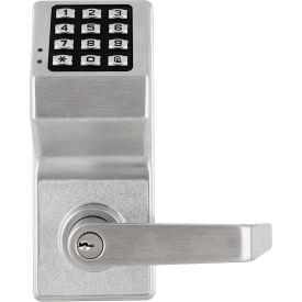 Fingertip Programmable Pushbutton Lock 100 Combination Cap