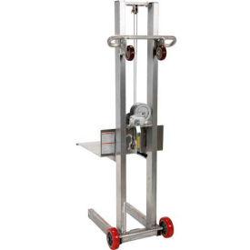 Vestil Aluminum Lite Load Lift ALLW-2020-FW - Winch Operation