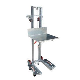 Vestil Aluminum Lite Load Lift ALLW-2420-4SFL - Winch Operation