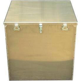 Aluminum Case 1424 Aluminum Big Box Storage, Transit Container - 24 x 22 x 24
