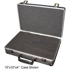 Aluminum Case 188-2 Aluminum Carry Case With Foam Insert - 18 x 13 x 8