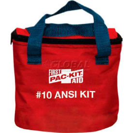 Pac-Kit First Aid Kit, Soft Pouch, 10 Person ANSI Compliant, 7070