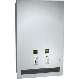 ASI® Recessed Sanitary Napkin and Tampon Dispenser - 04684-25