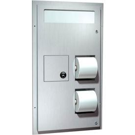 ASI® Dual Access Seat Cover/Tissue Dispenser w/ Sanitary Disposal - 0481