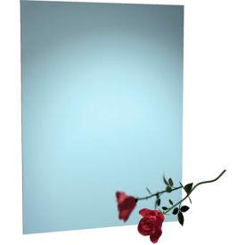 "ASI® Frameless Stainless Steel Mirror - 16""Wx20""H - 8026-1620"