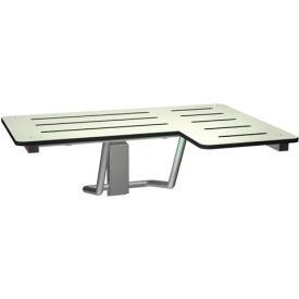 ASI® Folding Shower Seat - Left Hand Seat - 8206-L