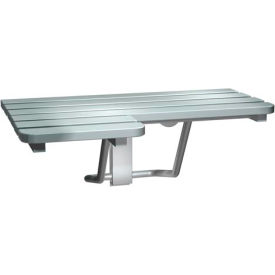 ASI® Stainless Steel Folding Shower Seat - Left Hand Seat - 8208-L