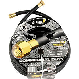 """Jackson® 4008300A Professional Tools 5/8"""" X 50' Rubber Commercial Duty Garden Hose"""